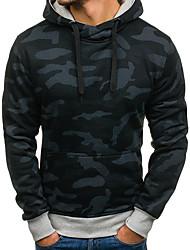 billige -Herre Basale Hattetrøje - camouflage, Trykt mønster
