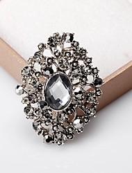 baratos -Mulheres Clássico Broches - Doce, Fashion, Elegante Broche Prateado / Cinzento Para Casamento / Festa