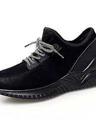 abordables -Homme Chaussures de confort Matière synthétique Automne Sportif / Décontracté Chaussures d'Athlétisme Course à Pied Massage Noir / Gris