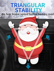 Недорогие -Lenuo Автомобиль Держатель подставки Воздухозаборная решетка Тип пряжки / Тип тяжести / Новый дизайн Силикон / ABS Держатель