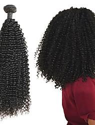 저렴한 -1 묶음 브라질리언 헤어 Kinky Curly 10A 레미 헤어 인모 연장 8-26 인치 천연 인간의 머리 되죠 최고의 품질 새로운 도착 뜨거운 판매 인간의 머리카락 확장 여성용