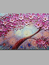 Недорогие -С картинкой Отпечатки на холсте - Halloween Цветочные мотивы / ботанический Классика Modern
