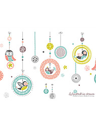 Недорогие -Декоративные наклейки на стены - Наклейки для животных Рождество / Цветочные мотивы / ботанический Столовая / В помещении