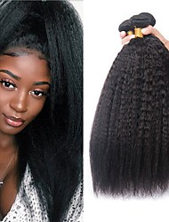 Недорогие -3 Связки Перуанские волосы Яки 8A Натуральные волосы Человека ткет Волосы Удлинитель Пучок волос 8-28 дюймовый Естественный цвет Ткет человеческих волос Sexy Lady Лучшее качество Горячая распродажа