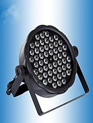 Недорогие -54 пластиковых светодиодных Par Light сценические огни свадебные украшения производительности оборудования бар ктв смешанные цвета огни полноцветный партия крашения огни