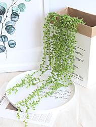 Недорогие -Искусственные Цветы 1 Филиал С креплением на стену подвешенный Деревня Свадьба Pастений Цветы на стену