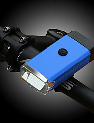 Недорогие -Светодиодная лампа Велосипедные фары Передняя фара для велосипеда Горные велосипеды Велоспорт Портативные Прочный Легкость 400 lm 3 батареи AAA Белый Велосипедный спорт Рыбалка / АБС-пластик