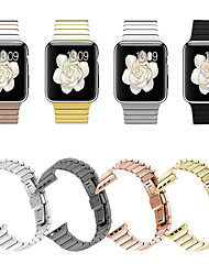 Недорогие -SmartWatch Band для Apple Watch серии 4/3/2/1 яблоко бабочка пряжка из нержавеющей стали мода ремешок
