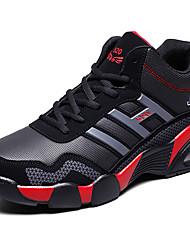 abordables -Homme Chaussures de confort Matière synthétique Automne Sportif / Rétro Chaussures d'Athlétisme Course à Pied Augmenter la hauteur Noir et blanc / Noir / Rouge / Noir / bleu.