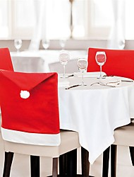 cheap -Chair Cover Party Accessories Christmas / Party / Evening Christmas / Creative Nonwoven