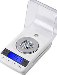 Недорогие -CX-50 50 г / 0,001 г цифровой электронный весы высокой точности медицинской лаборатории грамм баланса жк-портативный ювелирные весы