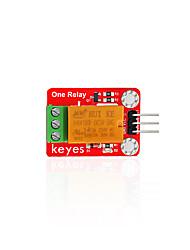 baratos -keyes 5v módulo de relé único (orifício da almofada) vermelho