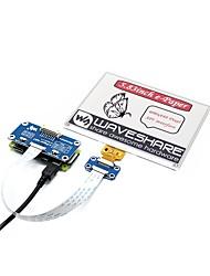 Недорогие -wavehare 5.83inch Э-бумажная шляпа (b) 600x448 5.83 дюймовый экран для чернил для малины pi red / black / white трехцветный