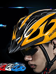 Недорогие -Взрослые Мотоциклетный шлем 15 Вентиляционные клапаны прибыль на акцию, ПК Виды спорта Велосипедный спорт / Велоспорт / Мотоцикл - Черный / зеленый / Буле / черный / Черный / желтый Муж. / Жен.