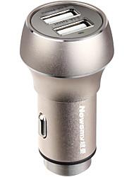 Недорогие -newsmy nm-9 безопасность высокого качества 5 v безопасность прикуривателя 2 USB-порта автомобильное зарядное устройство