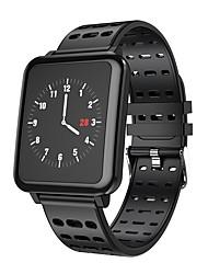 Недорогие -Indear T2 Умный браслет Android iOS Bluetooth Спорт Водонепроницаемый Пульсомер Измерение кровяного давления / Сенсорный экран / Израсходовано калорий / Длительное время ожидания / Хендс-фри звонки