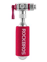 Недорогие -CO2 Мини-велосипедный насос Велоспорт Компактность / Подходит для клапана Presta & Schrader / Безопасность Aluminum Alloy - 1 pcs Серебряный / Пурпурный