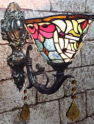 abordables -Créatif / Adorable Tiffany / Rétro / Vintage Appliques / Éclairage Chambre à coucher / Intérieur Résine Applique murale 110-120V / 220-240V 25 W