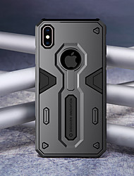 abordables -Nillkin Funda Para Apple iPhone XR / iPhone XS Max Antigolpes Funda Trasera Armadura Dura ordenador personal para iPhone XR / iPhone XS Max