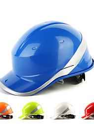 baratos -Capacete de segurança for Segurança no local de trabalho ABS Prova-de-Água 0.5 kg
