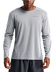 1d557c96cf UABRAV Men s Running Shirt Sports Stripe Tee   T-shirt
