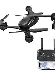 baratos -RC Drone KF600 BNF WIFI Com Câmera HD 720 Quadcópero com CR Modo Espelho Inteligente / Vôo Invertido 360° Quadcóptero RC / Controle Remoto / 1 Cabo USB