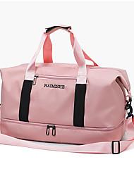 """Недорогие -Ткань """"Оксфорд"""" Сплошной цвет Дорожная сумка Молнии Сплошной цвет Красный / Серый / Розовый"""