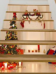 baratos -Autocolantes de Parede Decorativos - Muro de férias Adesivos Natal Ao ar Livre / Escritório