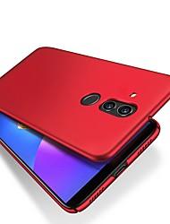 Недорогие -Кейс для Назначение Huawei Huawei Mate 20 Lite Ультратонкий / Матовое Кейс на заднюю панель Однотонный Твердый ПК для Mate 10 / Mate 10 pro / Mate 10 lite