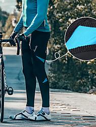 Недорогие -SANTIC Муж. Велолосины Велоспорт Велоспорт Колготки / Нижняя часть С защитой от ветра Однотонный Эластан Черный / красный / Черный / зеленый / Черный / синий Средний уровень Горные велосипеды