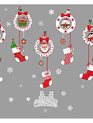 Недорогие -Декоративные наклейки на стены - Праздник стены стикеры Рождество / Праздник Столовая / Детская