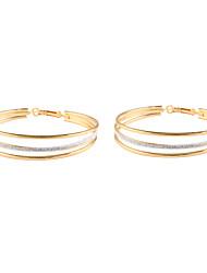 ราคาถูก -สำหรับผู้หญิง โบราณ Drop Earrings - รูปแบบแขวน คลาสสิก เครื่องประดับ สีทอง / สีเงิน สำหรับ ทุกวัน เป็นทางการ 1 คู่