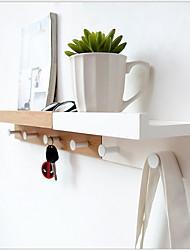 Недорогие -Держатель для полотенец Cool / Креатив Modern Бамбук 1шт На стену
