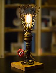 Недорогие -Деревенский стиль Декоративная Настольная лампа Назначение Спальня / Кабинет / Офис Металл 220 Вольт