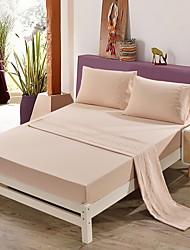 billige -bomuld quiltet geometrisk 1pc flad ark / 1pc monteret ark / 2pcs pudebetræk sengetæppe
