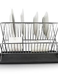 Недорогие -1шт Кухонные принадлежности Металлические Складной / Регулируется / Сливной Кронштейн Для приготовления пищи Посуда