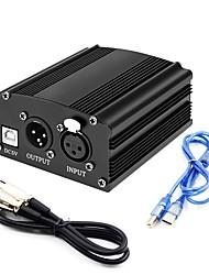 Недорогие -KEBTYVOR USB-U Поликарбонат Микрофон Другая часть Динамический микрофон Мода Назначение ПК