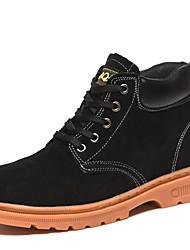 Недорогие -защитная обувь ботинки для безопасности на рабочем месте защиты от наводнений анти-пирсинг высокая термостойкость