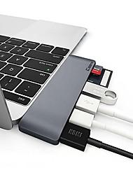 Недорогие -Сплав Серебряный / Серый USB-концентратор 0 cm
