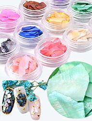 ieftine -12 pcs Multi Function Materiale ecologice Paiete Pentru Creative nail art pedichiura si manichiura Zilnic Modă