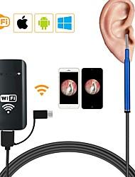 Недорогие -3.9mm 3 в 1 wifi box usb hd визуальный эндоскоп ловушка для мышки лотоса для снятия оскопа 1500 мм - синий