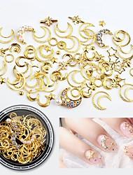 ieftine -1 pcs Multi Function / Cea mai buna calitate Materiale ecologice Bijuterie unghii Pentru MOON Αστέρι nail art pedichiura si manichiura Zilnic La modă / Modă