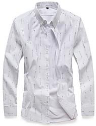 billige -Herre - Geometrisk Basale Skjorte