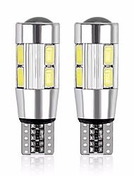 Недорогие -2pcs T10 Мотоцикл / Автомобиль Лампы 5 W SMD 5630 480 lm 10 Светодиодная лампа Лампа поворотного сигнала Назначение Дженерал Моторс Универсальный