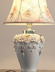 abordables -Traditionnel / Classique Décorative Lampe de Table Pour Chambre à coucher Céramique 220-240V