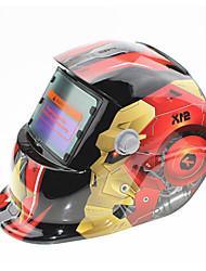 Недорогие -солнечный авто потемнение сварочный шлем 107 железный человек