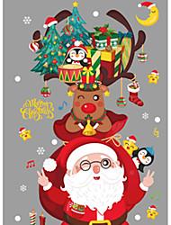 Недорогие -Декоративные наклейки на стены - Праздник стены стикеры Животные / Рождество В помещении / Детская