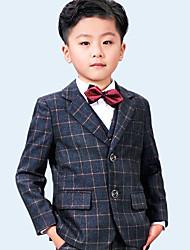 Недорогие -Серый 100% кашемир Детский праздничный костюм - 5 Включает в себя Бабочка