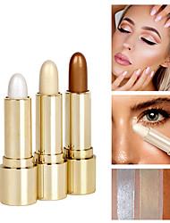 billige Concealer & kontur-3 farger 1 pcs Mineral Brighte Merkepenn # Moderne / Mote Vanntett Dagligdagstøy Sminke kosmetisk