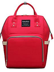 Недорогие -холст Сплошной цвет Сумка для мамы Молнии Сплошной цвет Серый / Пурпурный / Розовый